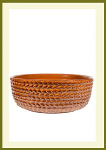 Braided Vine Low Planter - Golden Umber  $54.99