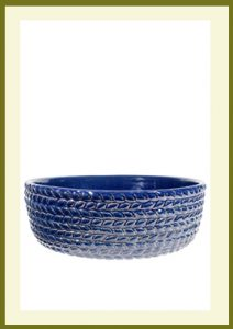 Braided Vine Low Planter - Heaven Blue  $54.99