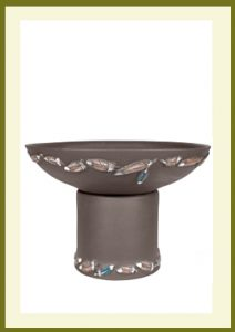Flight Handpainted Short Planter - Dark Stone  $79.99