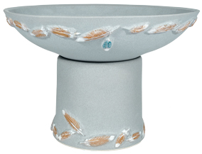 Flight Handpainted Short Planter - Sky Blue