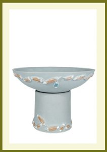 Flight Handpainted Short Planter - Sky Blue  $79.99
