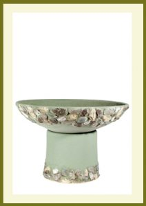 Riverstones Handpainted Short Planter - Sage  $79.99