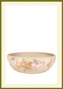 Shore Handpainted Low Planter - Sand  $39.99