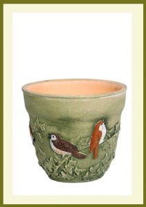 Songbird 8 inch Planter $99.99