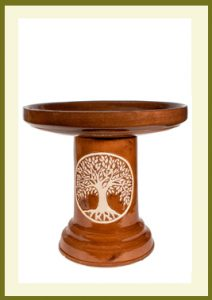 Tree of Life Birdbath - Golden Umber  $109.99