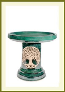 Tree of Life Birdbath - Green  $109.99