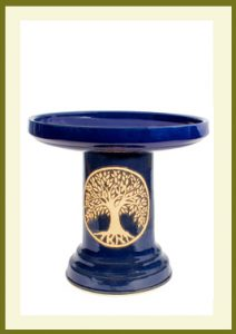 Tree of Life Birdbath - Heaven Blue  $109.99