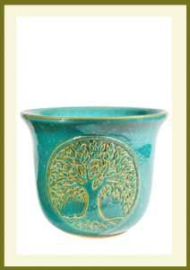 Tree of Life Planter - Mosaic Turquoise  $59.99