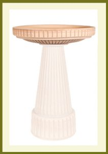 Universal Birdbath - Brown-top  $49.99