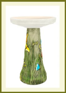 Butterfly Pedestal - Hand-Painted  $69.99