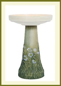 Daisy Pedestal - Hand-Painted  $69.99