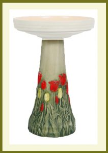 Tulip Pedestal - Hand-Painted  $69.99