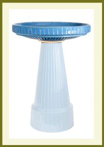 Universal Birdbath - Bellflower Blue-bowl  $54.99