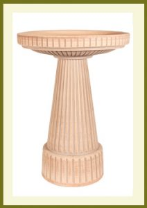 Universal Birdbath Set - Loam Brown $99.99