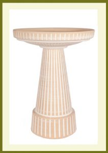 Universal Birdbath Set - Dove White  $99.99