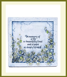 In Memory Of A Life $49.99