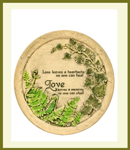 Loss Leaves A Heartache Plaque $49.99