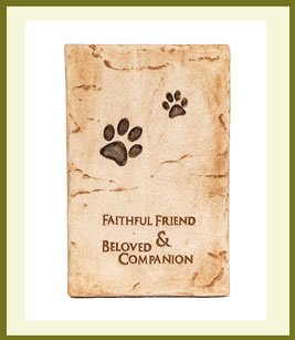 Pet Memorial Plaque $29.99