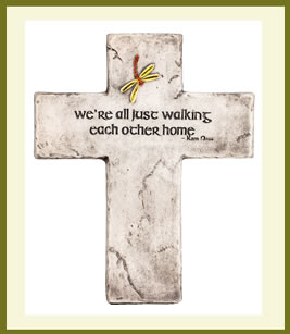Walking Each Other Home Plaque $39.99