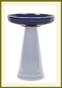 Simple Elegance Birdbath - Heaven Blue-Bowl  $59.99