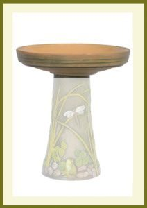 Dragonfly-Handpainted-Birdbath-Bowl $59.99