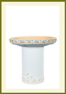 Flight Birdbath - Sky Blue Bowl $54.99