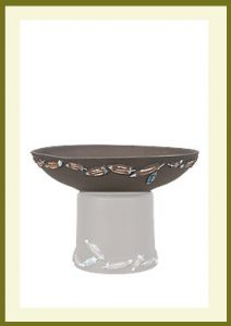 Flight Short Planter Dark Stone Bowl $54.99