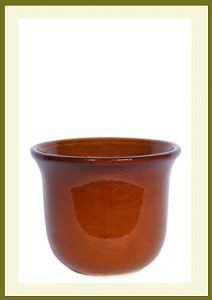 Flora Planter - Golden Umber $49.99