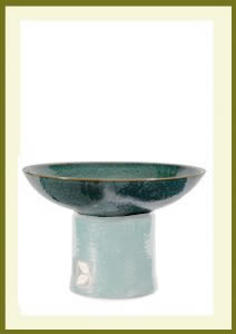 New-Leaf-Short-Planter-Green Bowl $34.99