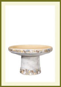 Riverstones Short Birdbath - Gray $79.99