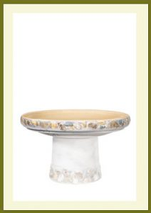 Riverstones Short Birdbath - Gray Bowl $54.99