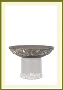 Riverstones Short Planter - Dark Stone Bowl $44.99