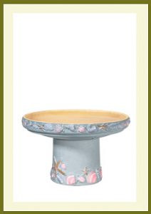 Shore Short Birdbath - Seabreeze Blue $79.99