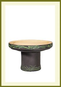 Wreath Short Birdbath - Darkstone $79.99