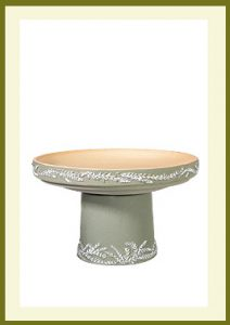 Wreath Short Birdbath - Sage $79.99