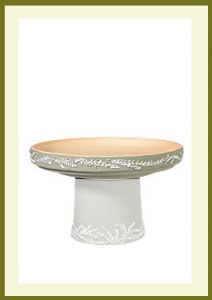 Wreath Short Birdbath - Sage Bowl $54.99
