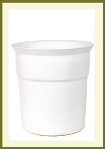 3 Gallon Drop-In Planter - Matte White $49.99