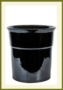 3 Gallon Drop-In Planter - Mirror Black $49.99