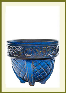 Porch Pot (12_ x 10_) - Blue Surf $59.99