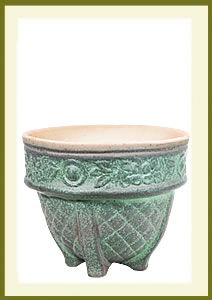 Porch Pot (12_ x 10_) - Petina $59.99