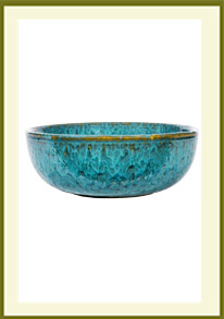 Low Container - Mosaic Turquoise  $39.99